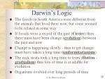darwin s logic