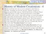 history of modern creationism 4
