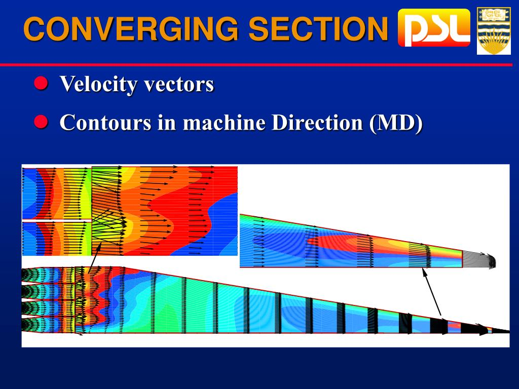 CONVERGING SECTION