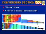 converging section20