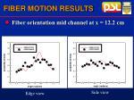 fiber motion results