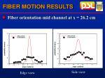 fiber motion results40