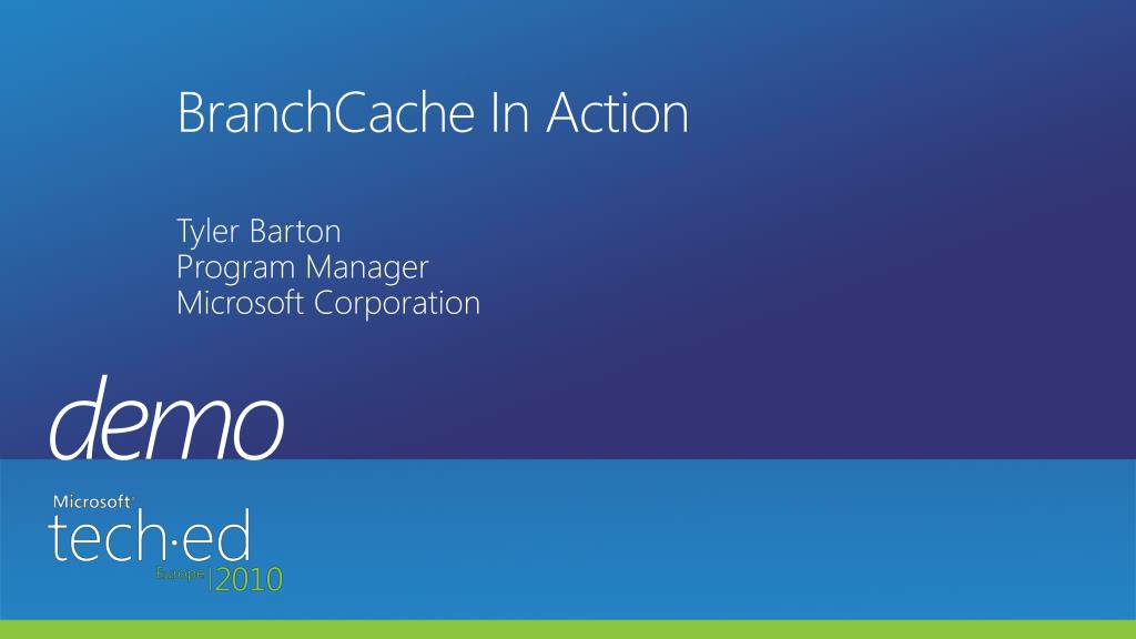 BranchCache