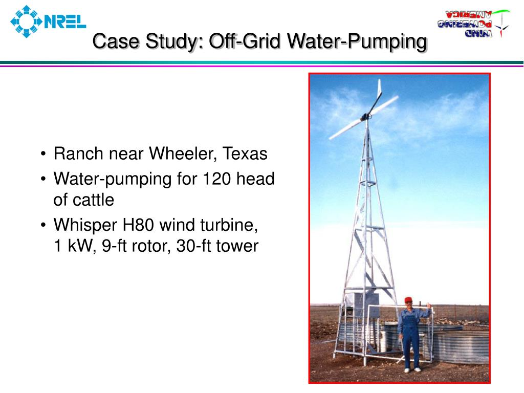 Case Study: Off-Grid Water-Pumping