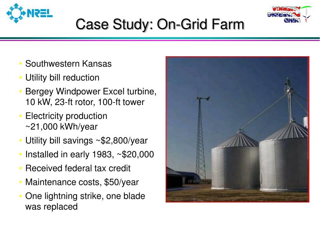 Case Study: On-Grid Farm