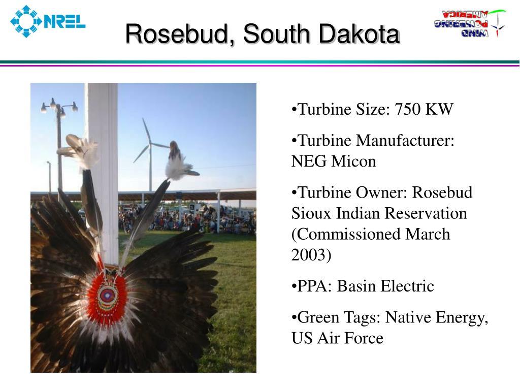 Rosebud, South Dakota