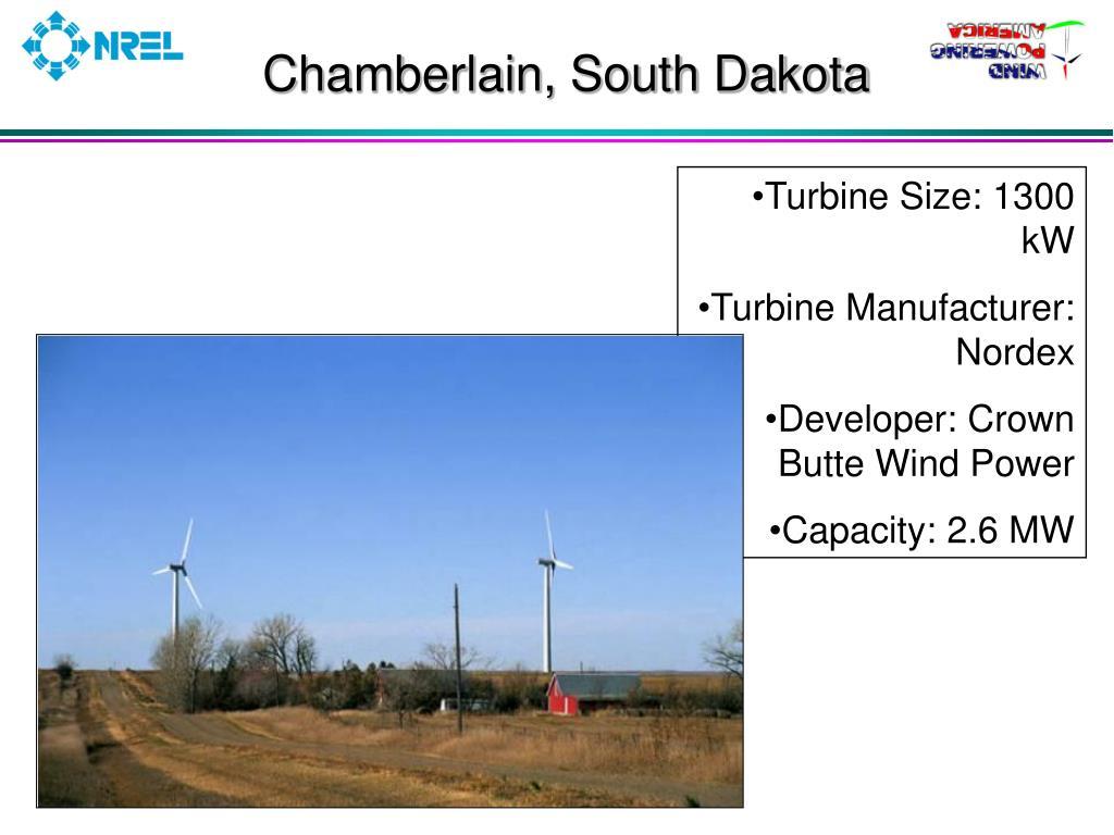 Chamberlain, South Dakota