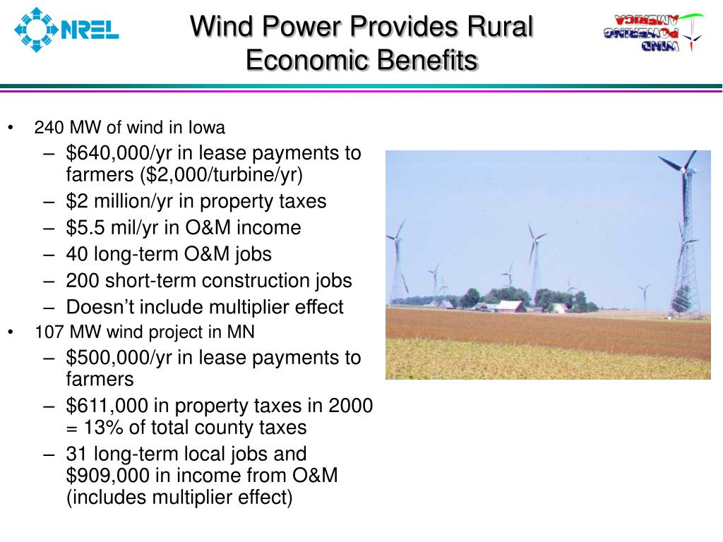 Wind Power Provides Rural