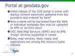 portal at geodata gov