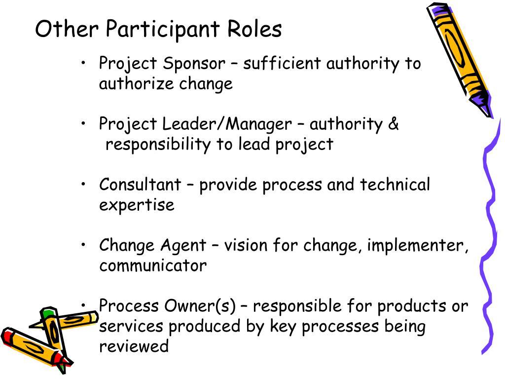 Other Participant Roles