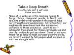 take a deep breath stop the why can t i just voice follow your plan