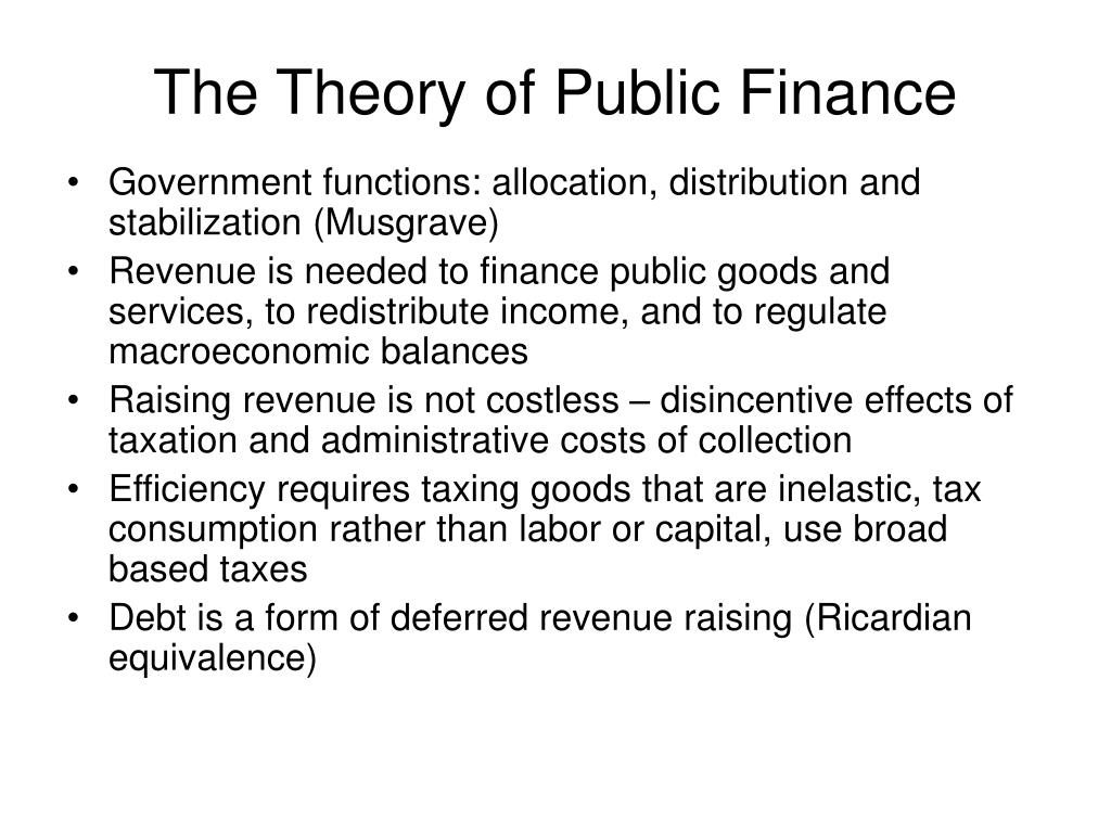 concept of public finance public finance paper lewis beets public administration- institutions and processes mgt/522 may 24, 2014 professor mark holtzclaw public budgets and expenditures are.