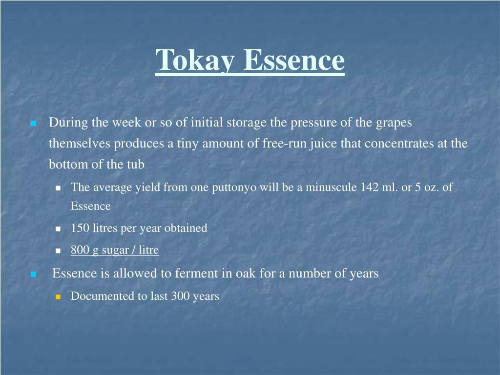 Tokay Essence