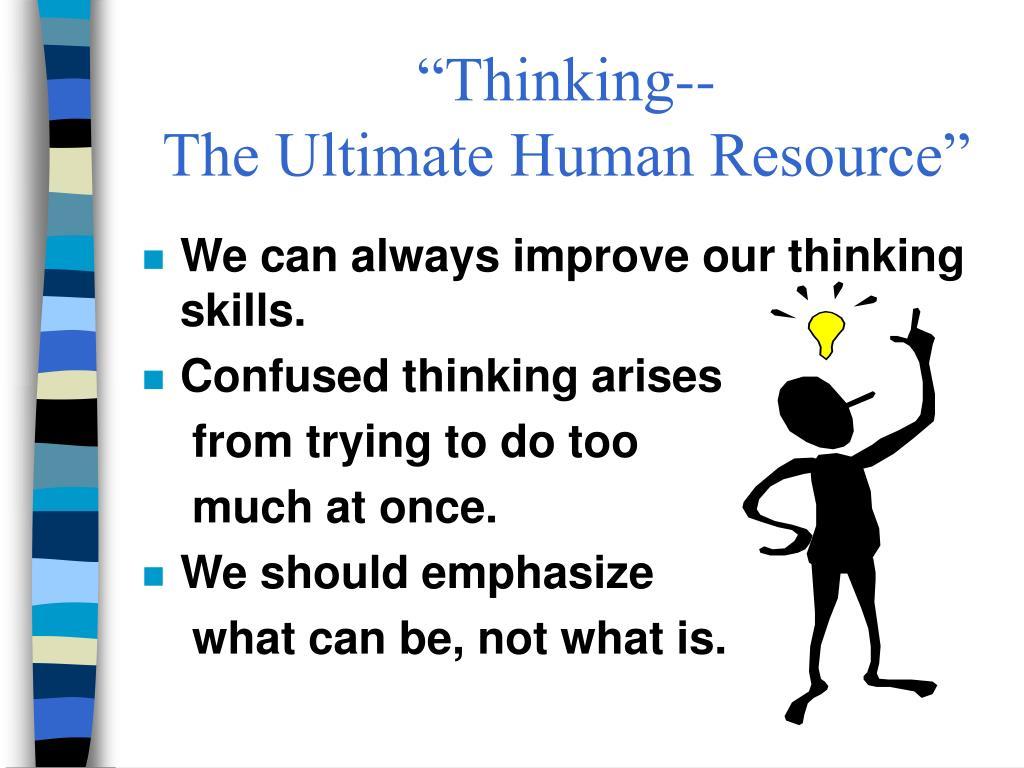 """Thinking--"