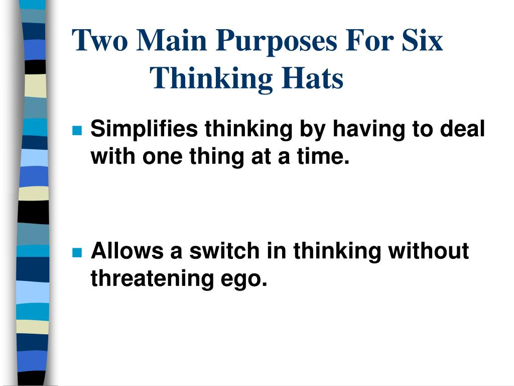 Two Main Purposes For Six