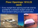 floor openings 1910 23 a 4