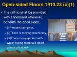 open sided floors 1910 23 c 122