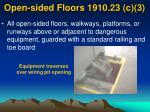 open sided floors 1910 23 c 3