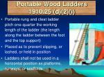 portable wood ladders 1910 25 d 2 i
