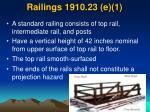railings 1910 23 e 1