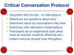 critical conversation protocol