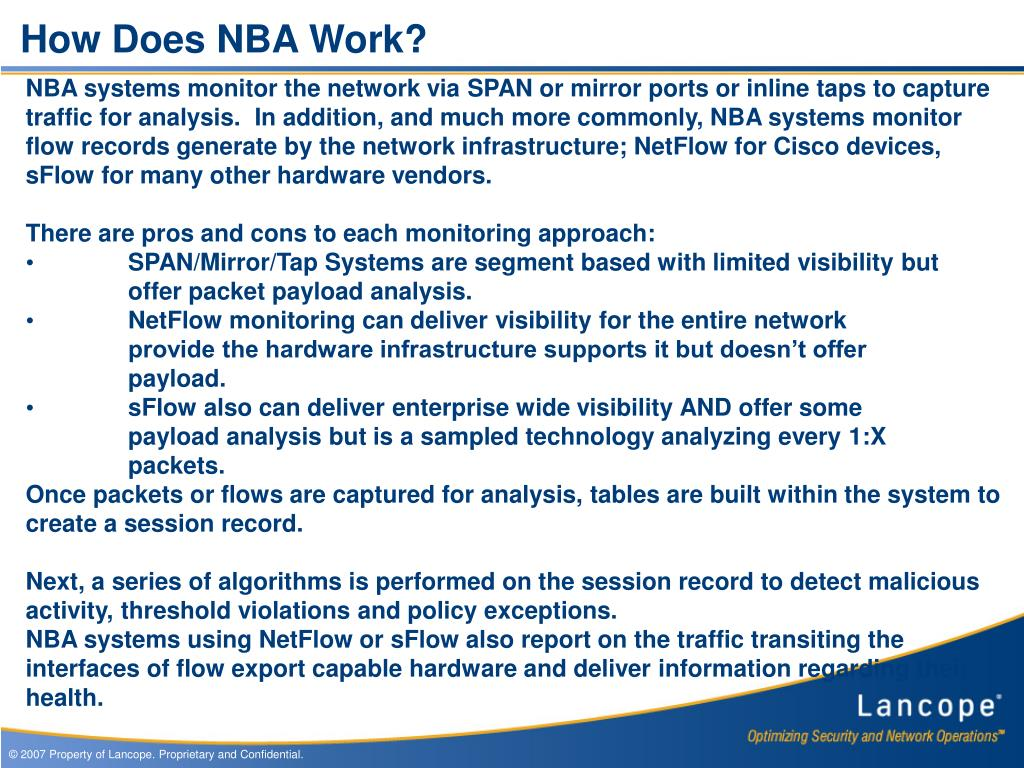 How Does NBA Work?