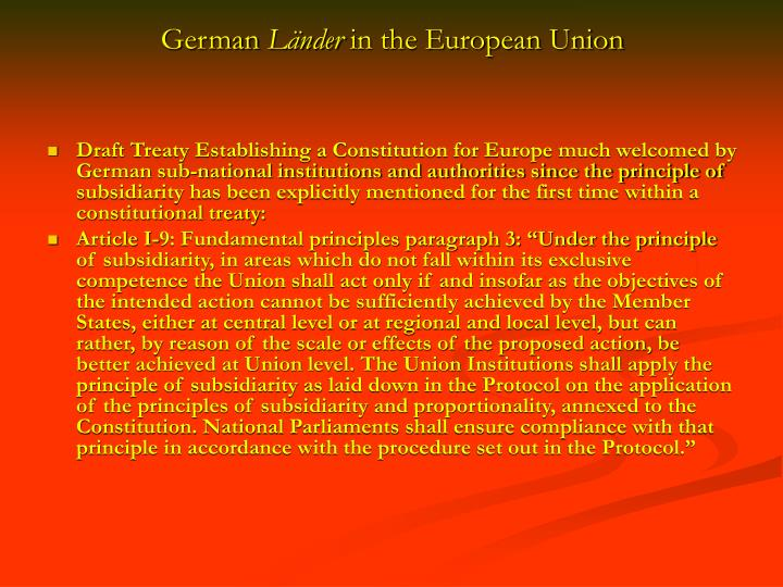 German l nder in the european union3