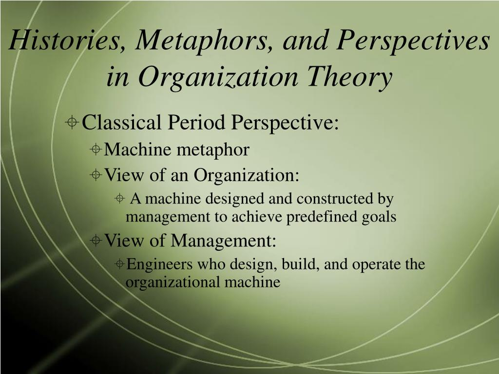 symbolic interpretive perspective of organisation culture 'organization, communication, culture andvoice/control'in these theoretical   construction of reality, symbolic interaction movement that emerged in   communication, the interpretive perspective has become more common in  literature recently.