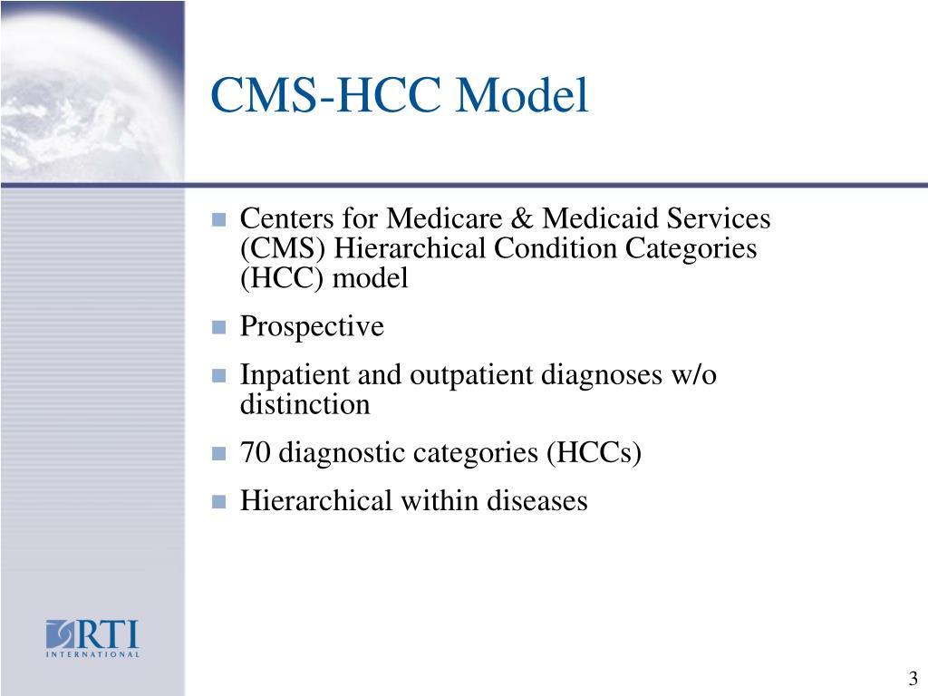 CMS-HCC Model