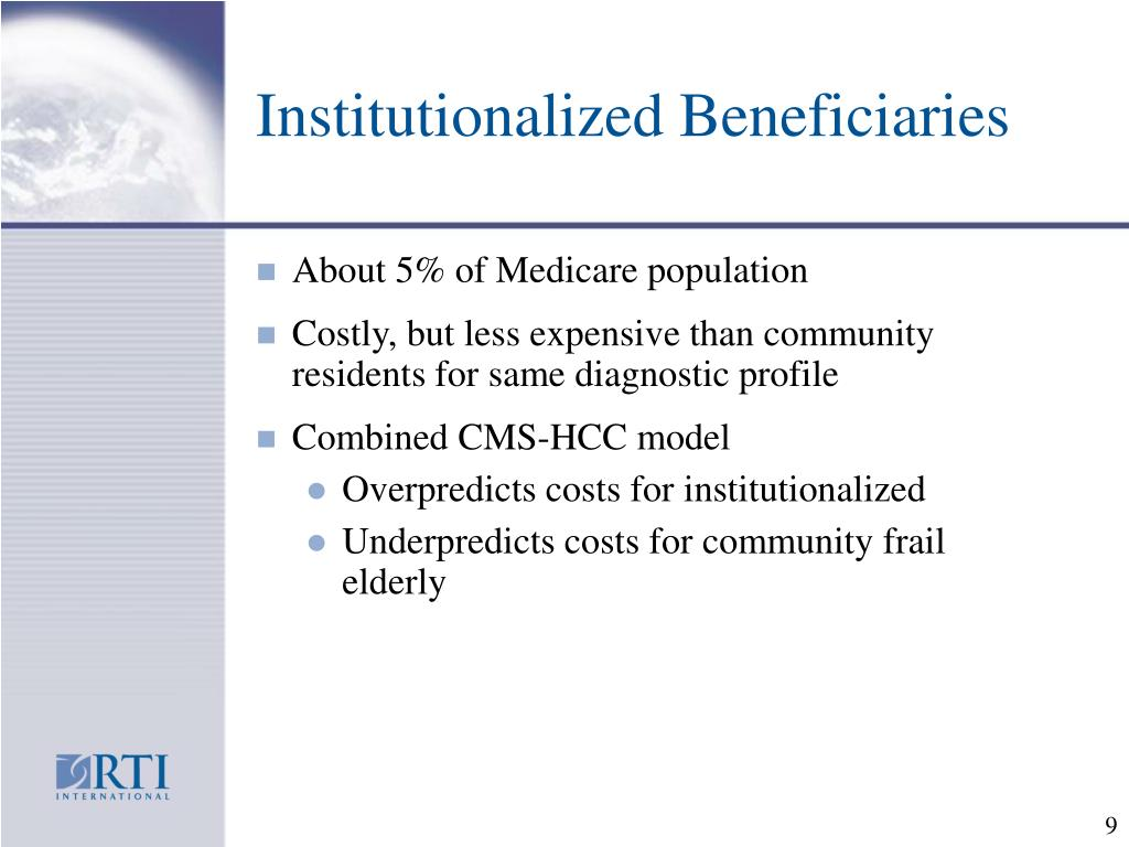 Institutionalized Beneficiaries