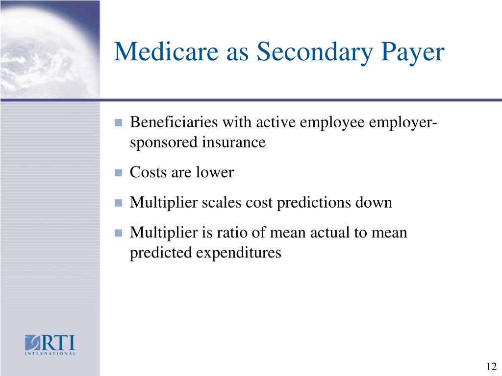 Medicare as Secondary Payer