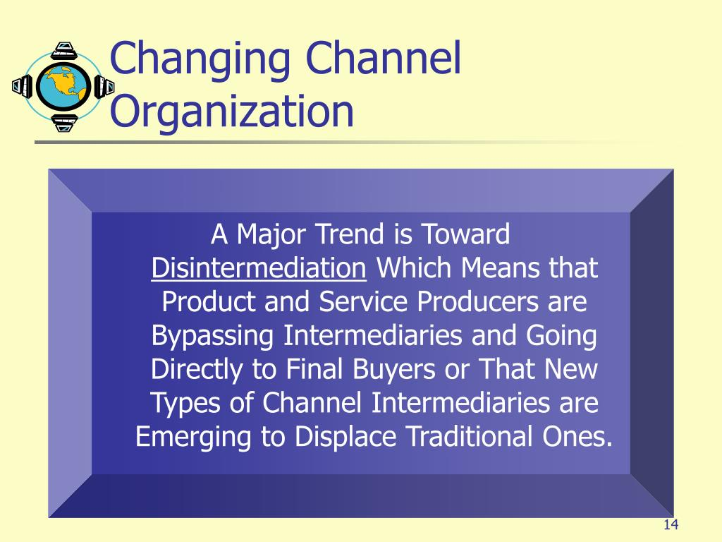 Changing Channel Organization