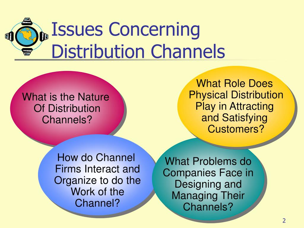 Issues Concerning Distribution Channels