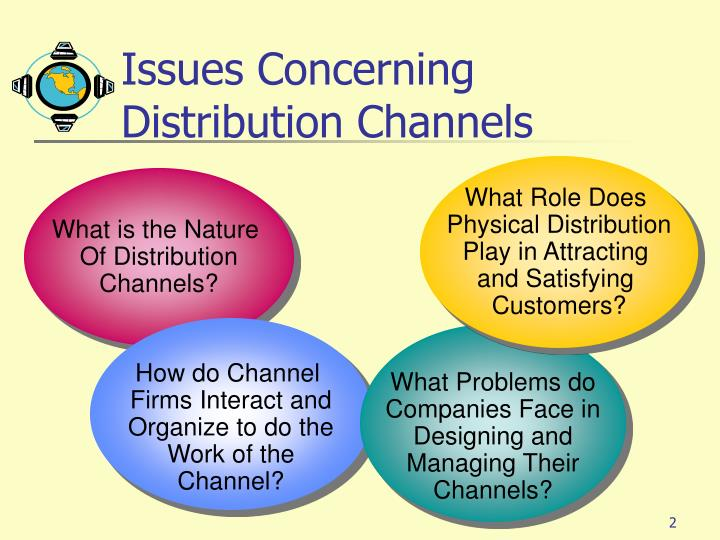 Issues concerning distribution channels l.jpg