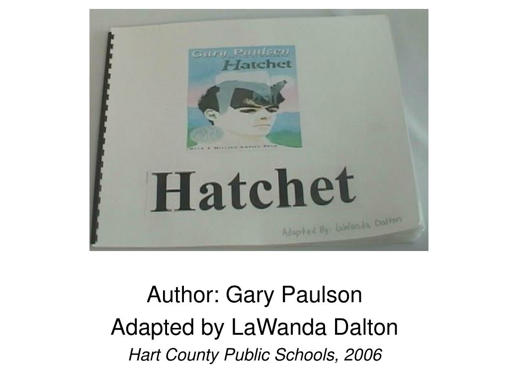 Author: Gary Paulson