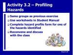 activity 3 2 profiling hazards