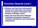 terrorism hazards cont26