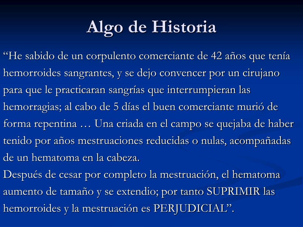 Algo de Historia