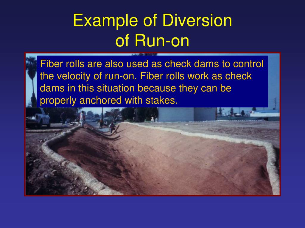 Example of Diversion