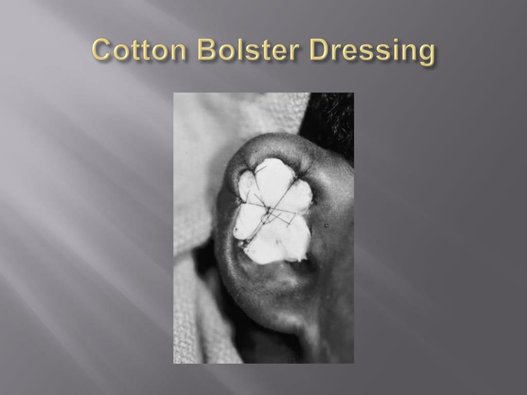 Bolster Dressing For Cauliflower Ear - Image Mag