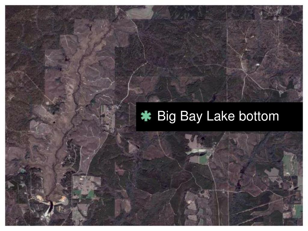 Big Bay Lake bottom
