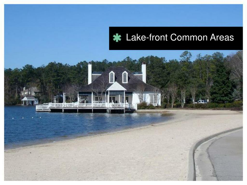Lake-front Common Areas