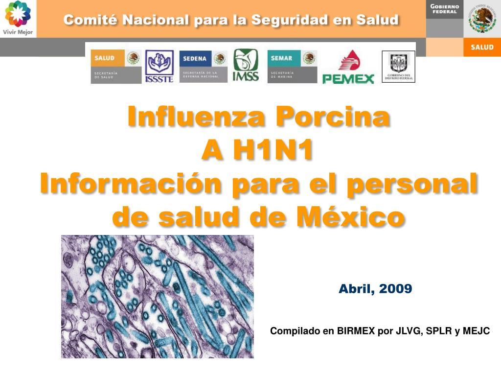 Comité Nacional para la Seguridad en Salud