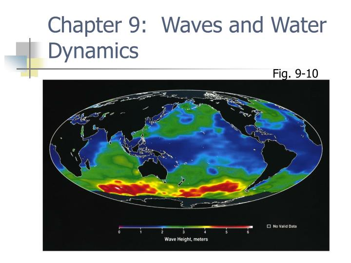 Chapter 9 waves and water dynamics