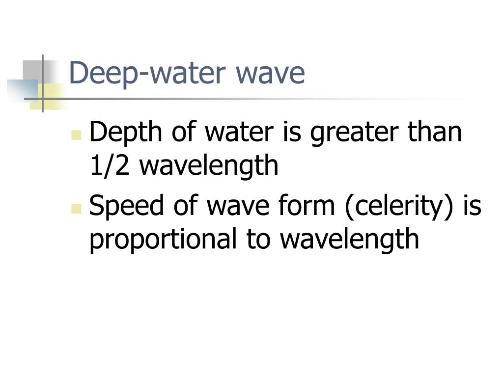 Deep-water wave