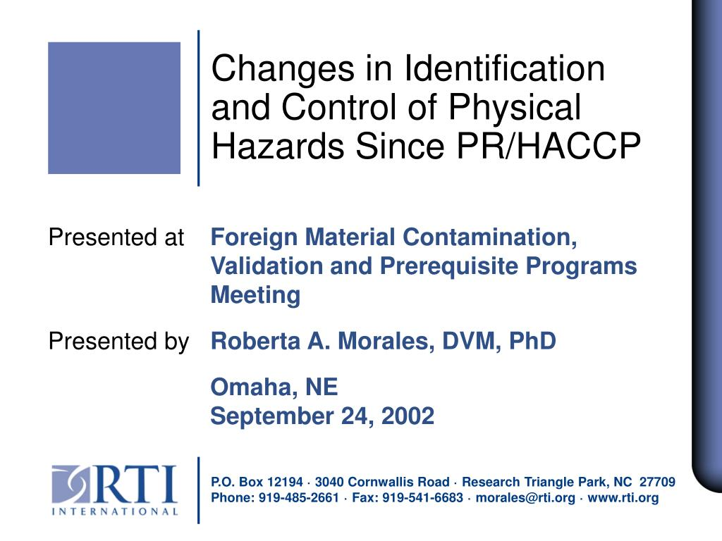Changes in Identification