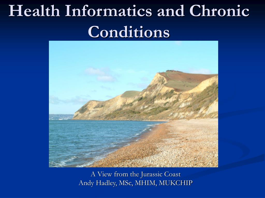 health informatics and chronic conditions