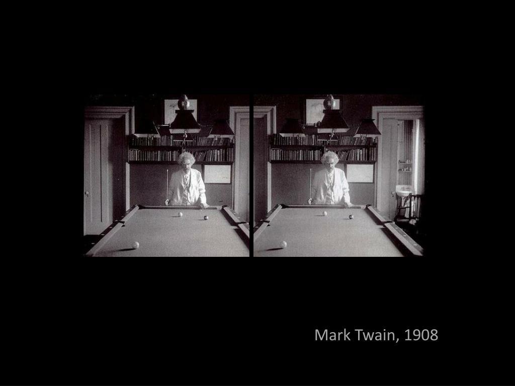 Mark Twain, 1908