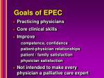 goals of epec