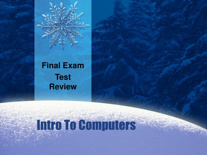 Final exam test review l.jpg